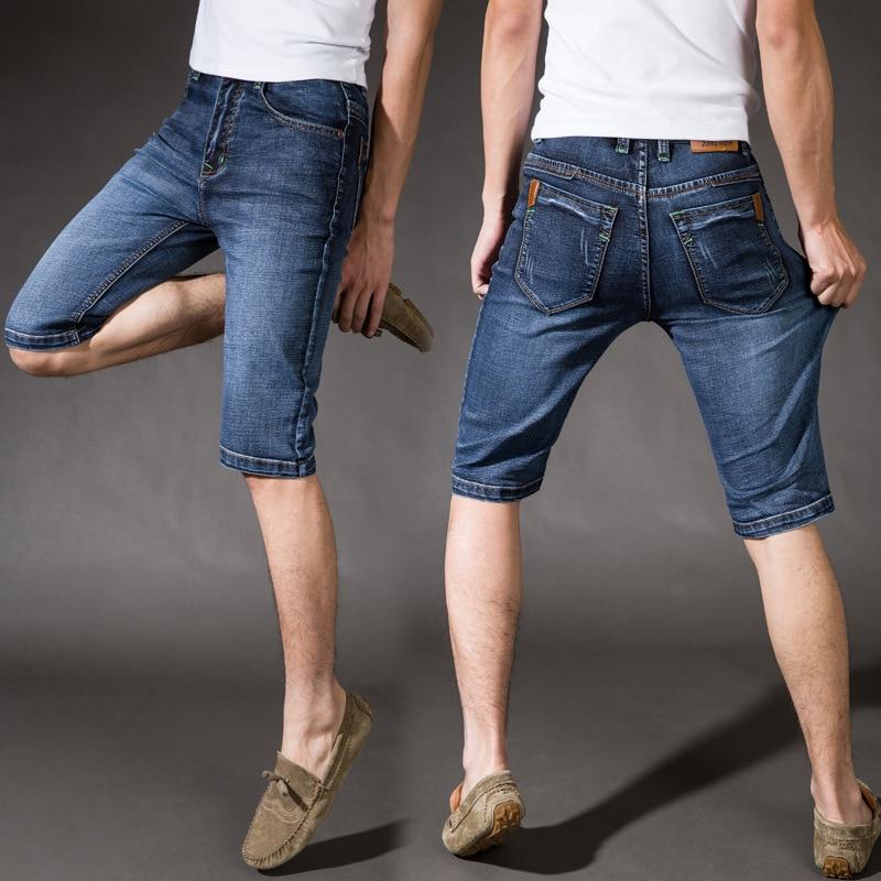 Men's denim shorts summer fat people Nutty large primary money pants five pants plus fertilizer XL SIZE28-38 nutcase little nutty superstar xs