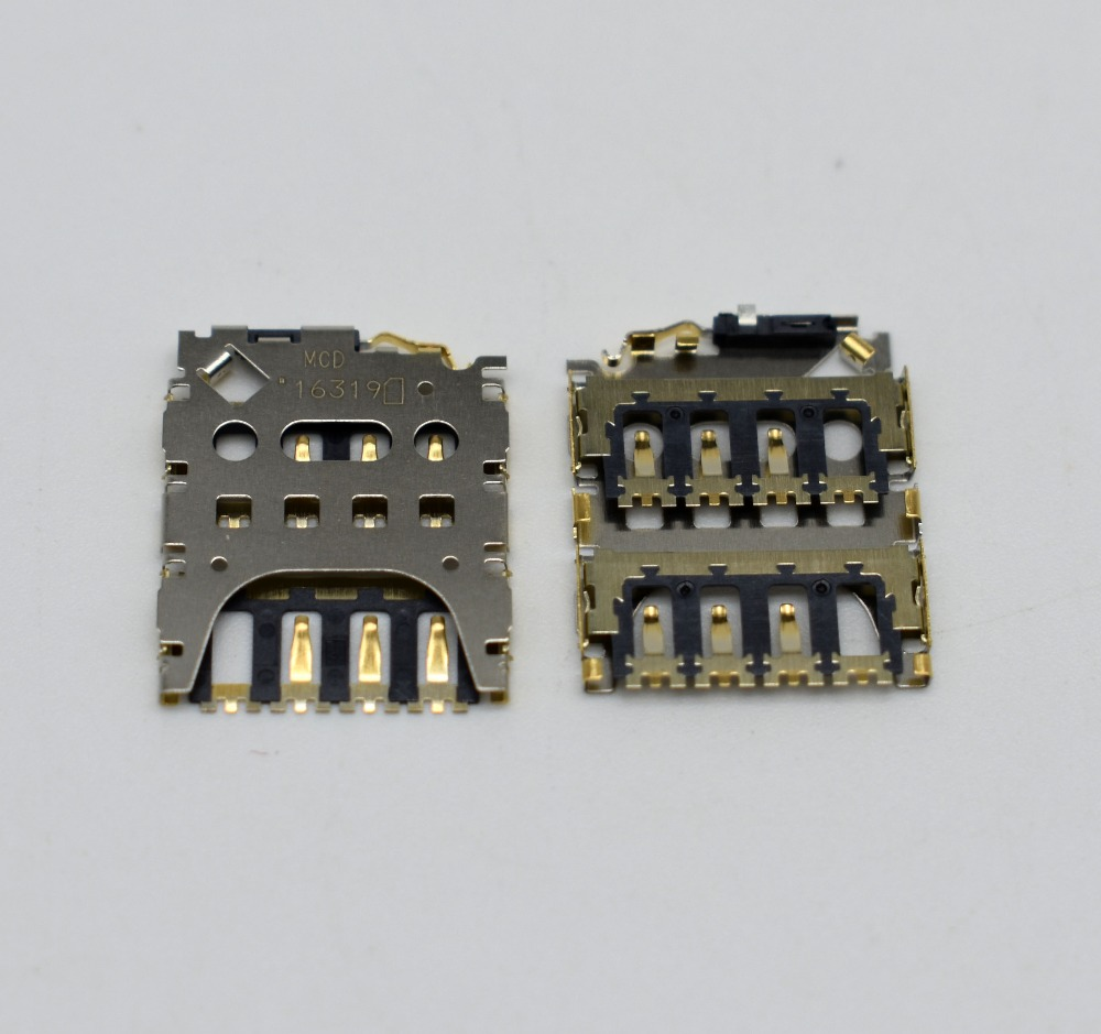 10pcslot For MOTO G3 G 3rd XT1541 XT1540 XT1548 XT1550 Original SIM Card Reader SIM Card Socket SIM Card Slot Replacement