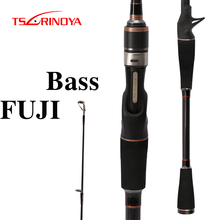 TSURINOYA PIONEER Spinning/Casting Fishing Rod Carbon 2.1m M/ML Power 2 Sections Lure Rod Eva Handle FUJI Guide Ring Rod Peche костюм водоотталкивающий sm лес куртка брюки цвет зеленый sm 009 размер 48 50 170 176
