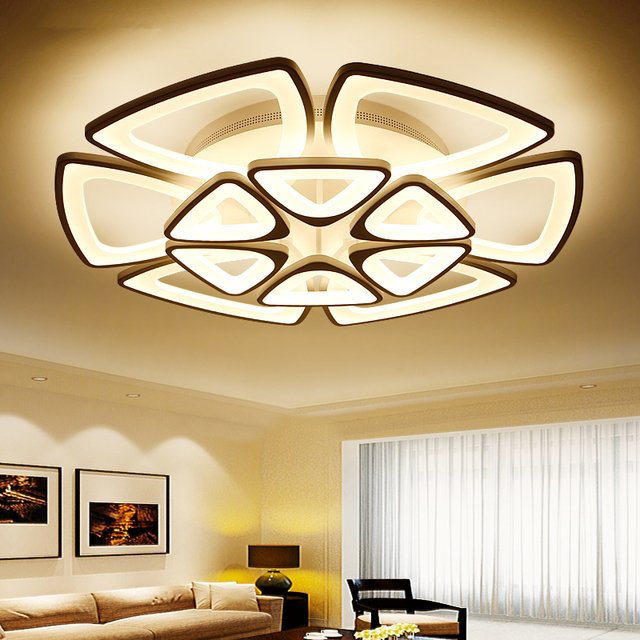 beautiful hot moderne plafond led cirkel moderne verlichting voor woonkamer acryl lampara de techo with zwevend plafond met verlichting
