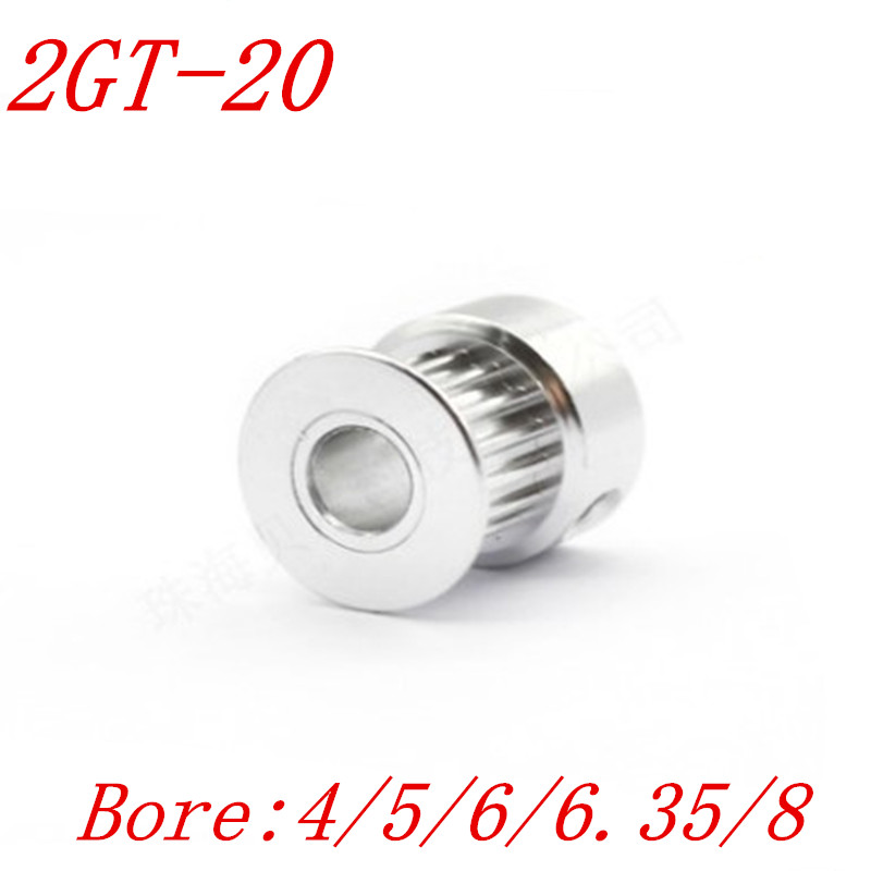 10 pieces 20 MM PRECISION MOULDED PUSH-FIT PLASTIC PULLEY WITH 4MM BORE