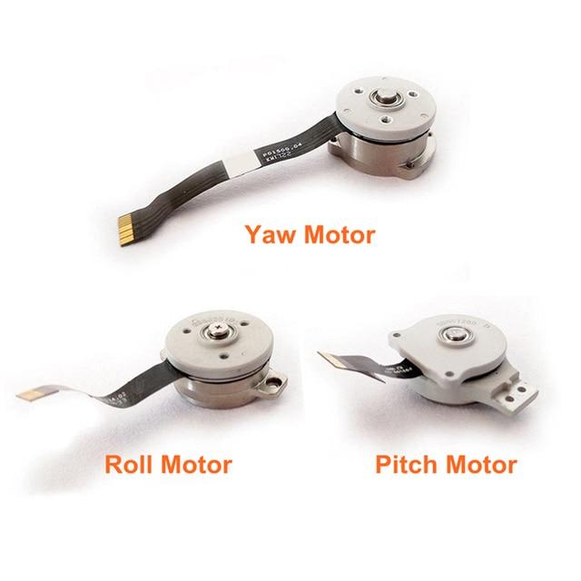 Pièces de réparation de moteur de cardan fantôme dorigine rouleau de caméra de cardan/pas/support de moteur de lacet pour accessoires DJI Phantom 4 AdvPro Advance