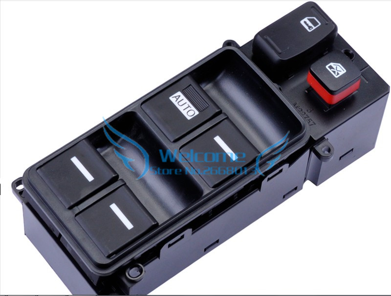 Original AUTO PART Left front window switch Glass lifter switch Main switch for Honda Odyssey 2005-2008