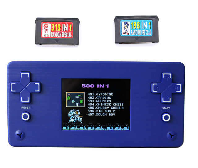 Children Retro Handheld Mini Game Console Built-in 168 Classic Games Puzzle Game Player Best Gift for Child Pocket Handheld game