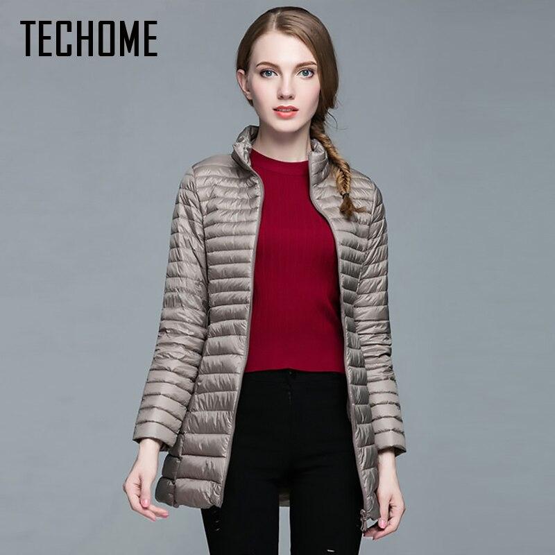 2017 Fashion Winter Women Down Jacket 90% Down Coat Female Ultra-light Long Parka Elegant Outwear Warm Ladies Outerwear 3XL 4XL
