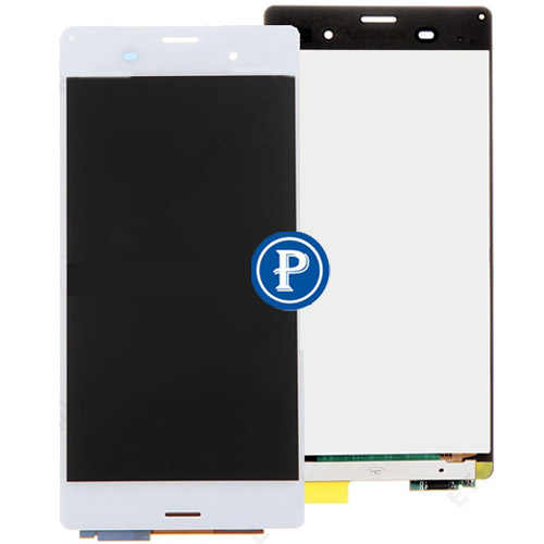 ФОТО For Sony Xperia Z3 D6603 D6653 D6643 Complete LCD Screen with Digitizer touchpad Assembly  - White