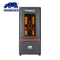 Impressora WANHAO 2019 Mais Novo hi-tech 3D D7 V1.5 DLP 405nm Luz software frete risin 30mm/ horas max 121*68.5*180 milímetros