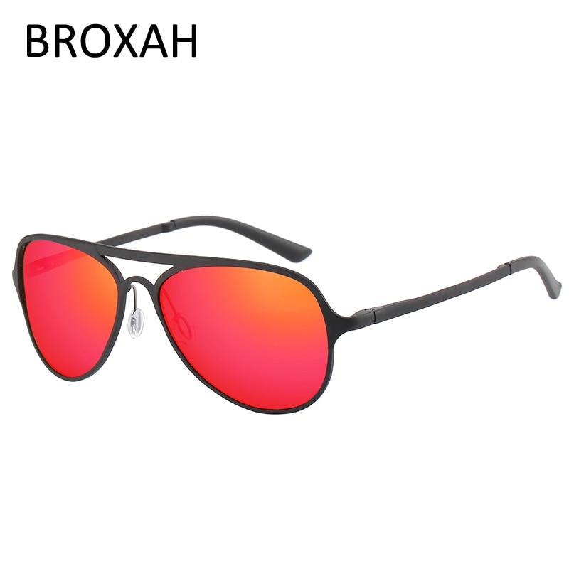 Retro Sport Goggles Men Brand Polarized Sunglasses Aluminium Magnesium Driving Glasses Women Shades UV400 Gafas De Sol Hombre in Men 39 s Sunglasses from Apparel Accessories