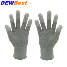 DEWBest pu safety glove china working gloves electric  A130 work glove pack of 12pairs  antistatic glove