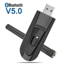 цены на AptX Low Latency Long Range Bluetooth 5.0 Transmitter Audio USB Adapter 3.5mm Wireless Dongle Apt-X Transmitter for TV PC PS4  в интернет-магазинах