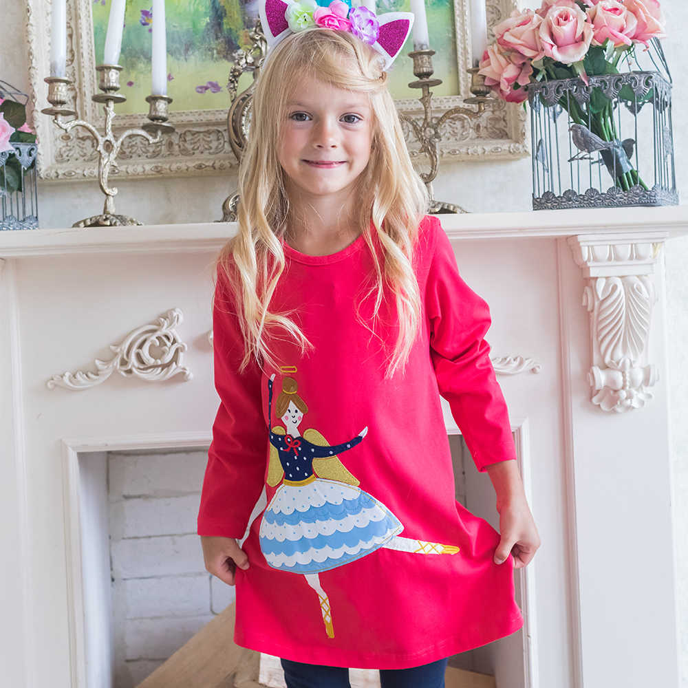 d1c5ebdddf444 Princess Dress for Girls Clothing Children Unicorn Party Dinosaur Dress  Baby Girl Clothes Cotton Animal Kids Dresses for Girls