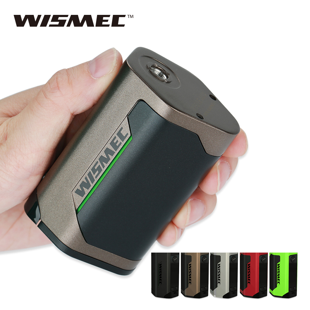 Original 300W WISMEC Reuleaux RX GEN3 TC Box MOD Huge OLED Display Maximum Output 300W No18650 Battery E-Cigarette Box Mod