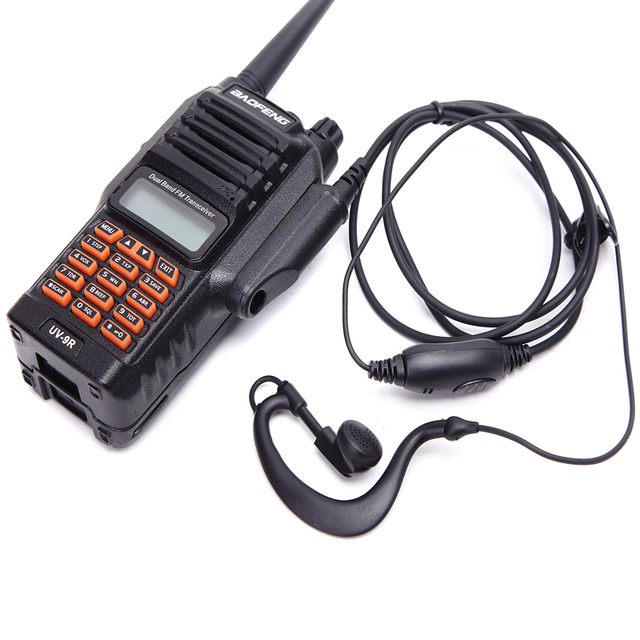 8W leistungsstarke zwei weg radio 9R wasserdicht IP 67 136 174mhz 400 520mhz VHF UHF ham radio 10km ganze verkauf preis
