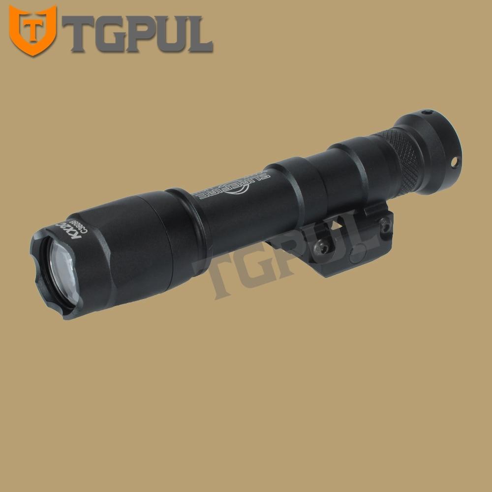 M300B Scout Light 20mm Rail Light Constant Momentary 400LM lumen LED Lanterna US