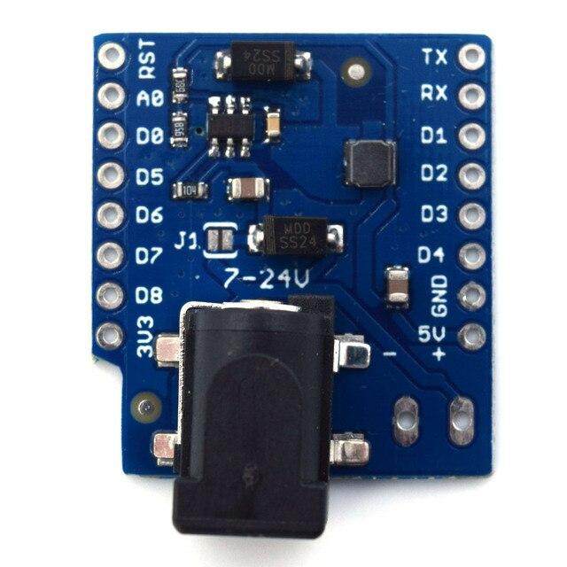 DC Power Shield V1.1.0 per LOLIN (WEMOS) D1 mini