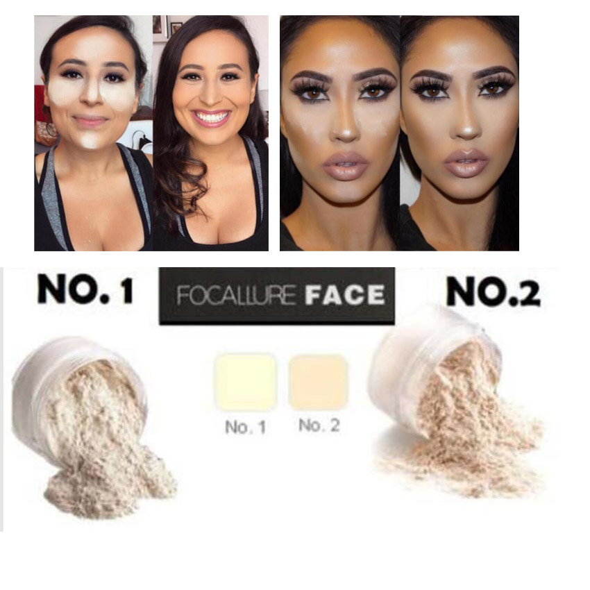 New Loose Setting Face Powder Translucent oil control natural ingredient setting powder 29g brighten waterproof 2