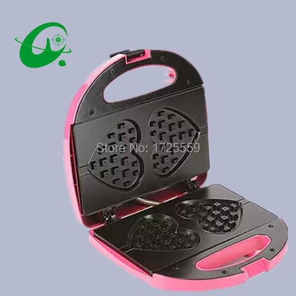 Mini electric waffle machine, 220v Heart-shaped waffle making maker godox pro studio octagon honeycomb grid reflector softbox 120cm for bowens mount apply to studio strobe flash light