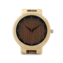 BOBO BIRD D16 Luxury Designer Bamboo Watches Scale Collar Leather Grainy Band Japaness Movement Quartz Watch Classic Gift