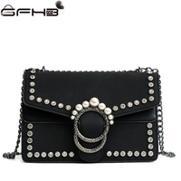 Luxury Designer Women Handbags Leather Crossbody Bags Famous Brands Michael Handbag Fashion Diamonds Pearl Bag Sac