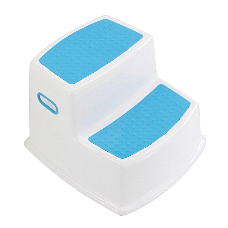 Image 4 - 2 Step Stool for Kids Toddler Stool for Toilet Potty Training Slip Bathroom Kitchen HUG Deals-in Children Stools from Furniture