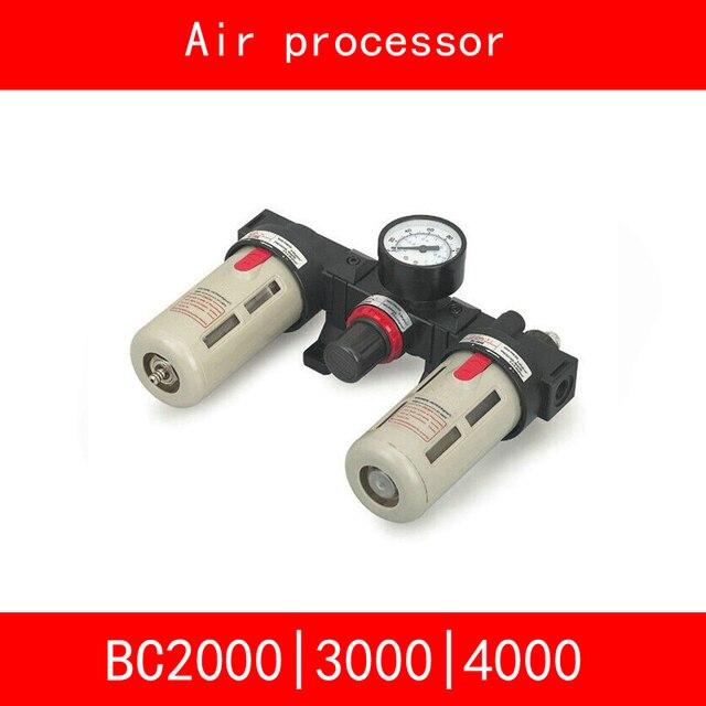 "BC2000 BC3000 BC4000 Size 1/4"" 1/2"" 3/8"" Air Filter Combination Air Pressure Filter Regulator Lubricator BC Series Three-point"