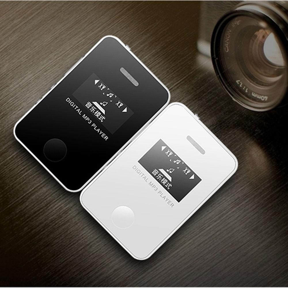 NEW FASHION Player Mp3 Hifi Portable Audio Mini mp3 player usb LCD Screen Music Media Support Micro SD TF Card Lettore JANN26
