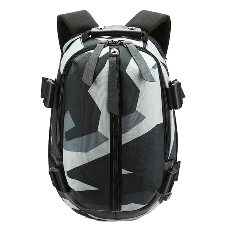 OZUKO Men Backpack 2019 New Notebook Laptop Backpack Women Camouflage Waterproof USB Charging Fashion School Bags