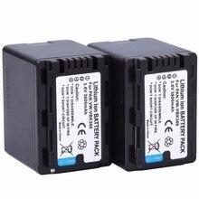 2 шт. VW-VBK360 VW VBK360 VWVBK360 Батарея для камеры для Panasonic HDC-HS80 SD40 SD60 SD80 SDX1 SDR-H100 H85 H95 HS60 HS80 TM60