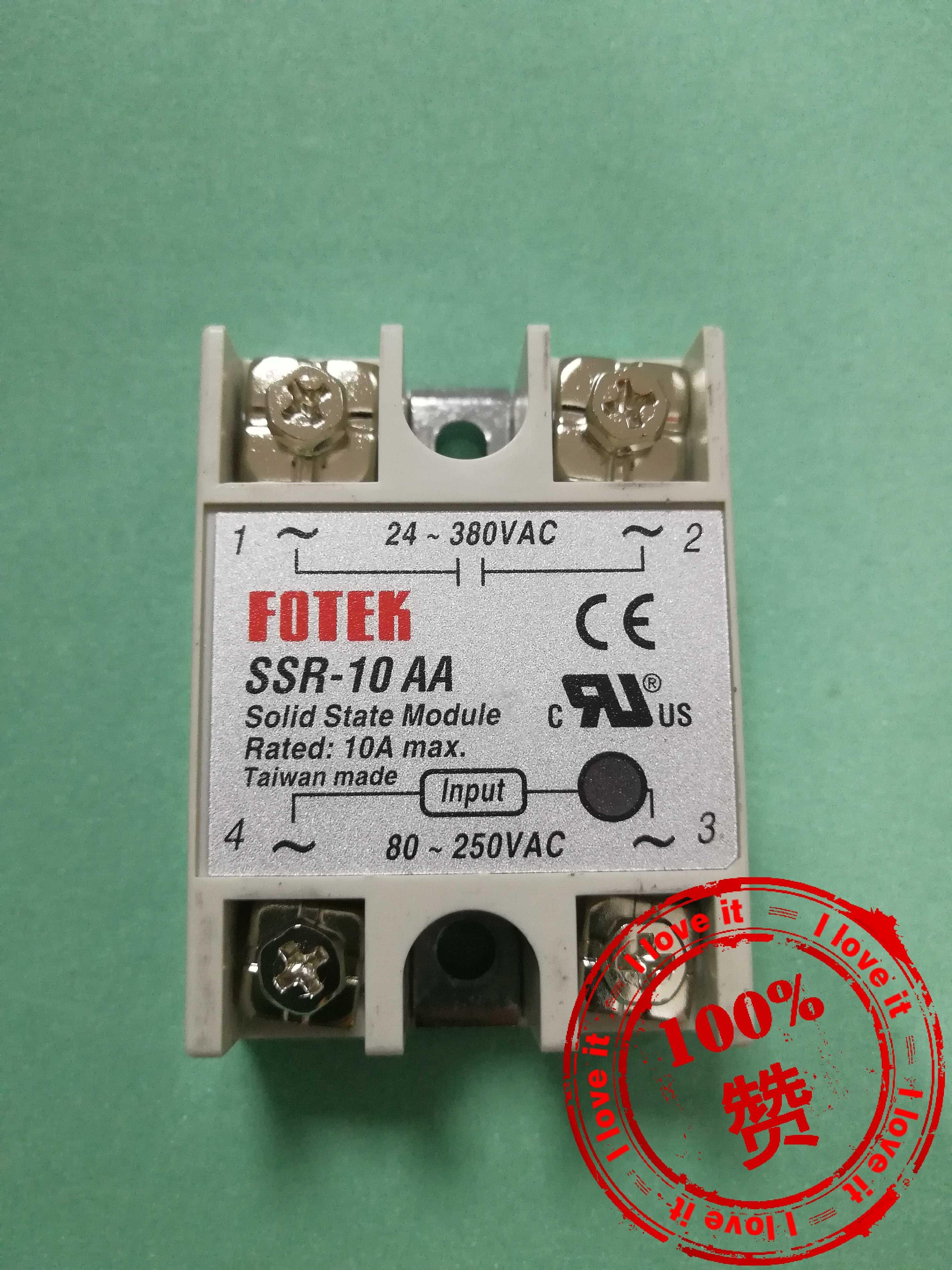 Original Import Ssr-10aa: Solid State Relay SSR-10AA False Ten Penalty
