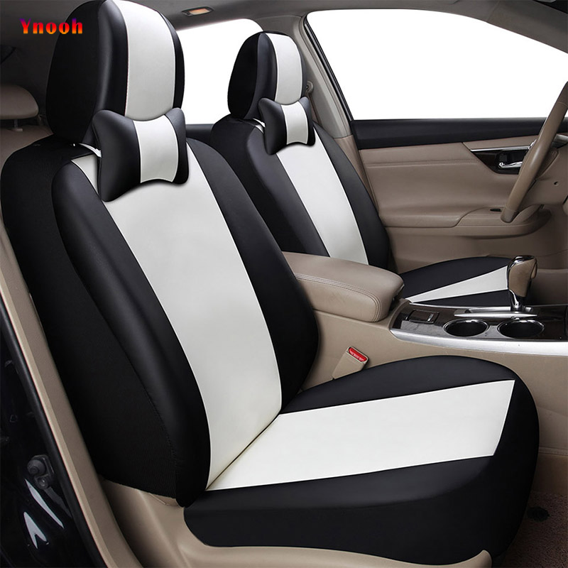 Car ynooh car seat covers for toyota rav4 corolla chr avensis land cruiser 100 verso prado 120 fortuner cover for vehicle seat pu leather car seat cover universal 5 colors auto chair pad covers for toyota corolla rumion runx cruiser fortuner gt86 harrier