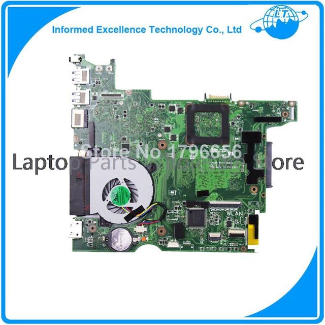 Para asus 1225b laptop motherboard com ventilador de refrigeração, 1225b mainboard