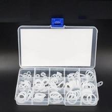 Силиконовый каучук o-образный кольцо уплотнительное кольцо уплотнения шайба Водонепроницаемость ассортименте разные Размеры с пластиковая коробка комплект