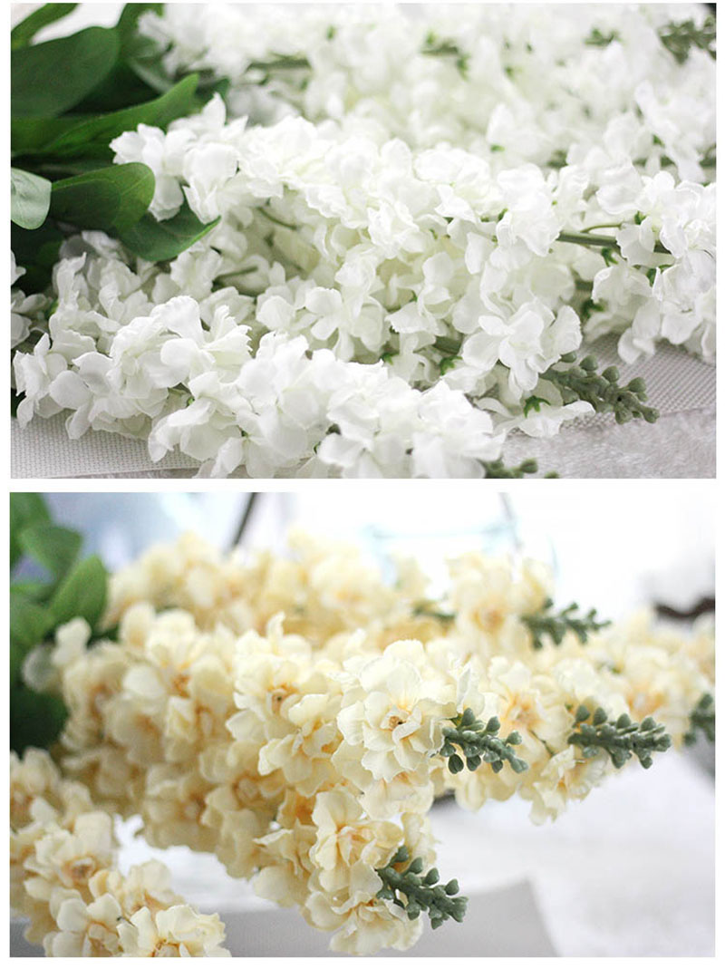 90cm Delphinium Silk Flower Artificial Europe Style Wedding
