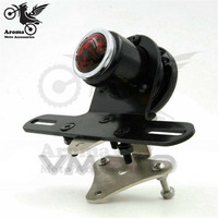 Top Quality Black Universal Moto Rear Indicator Blinker Motorbike Tail Light For Harley Motorcycle Brake Light