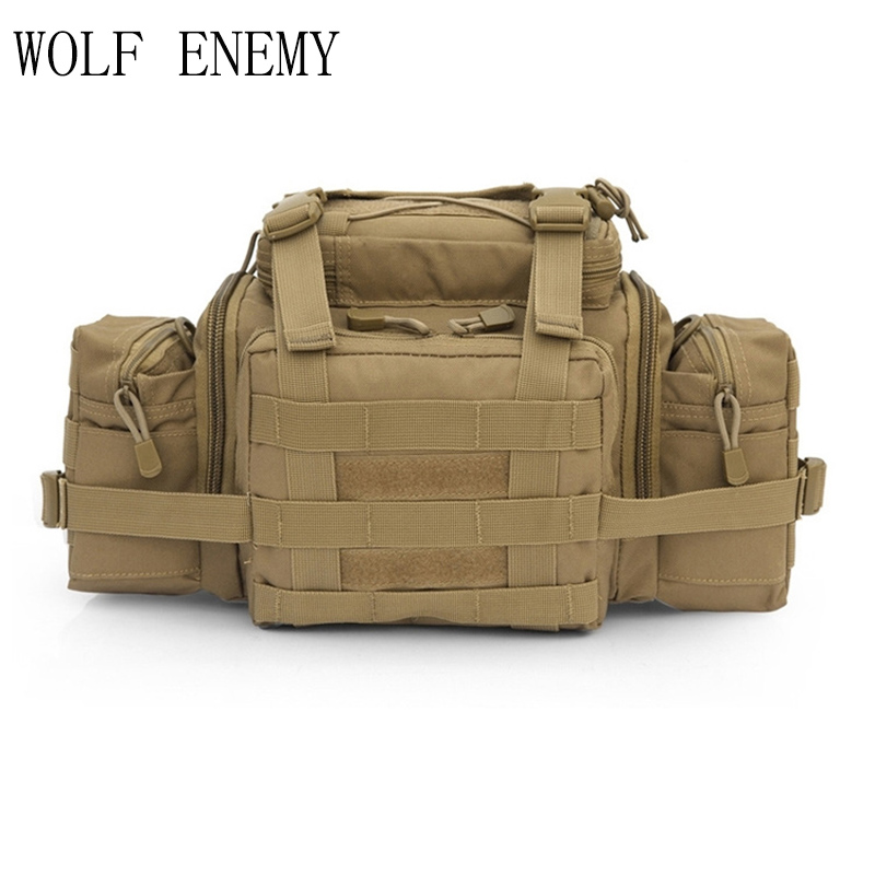 Molle Tactical Utility Gear Waist Pouch Carrier Bag Outdoor Sport Assault Hunting Bags