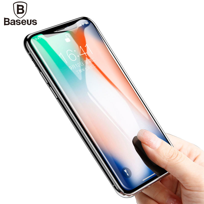 Baseus Screen Protector Tempered Glass For iPhone X Ultra