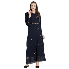 Malaysia Women Muslim Dress Abayas and Jilbabs Clothes Turkey Islamic Dresses Picture Womens Bronzing Long Clothing