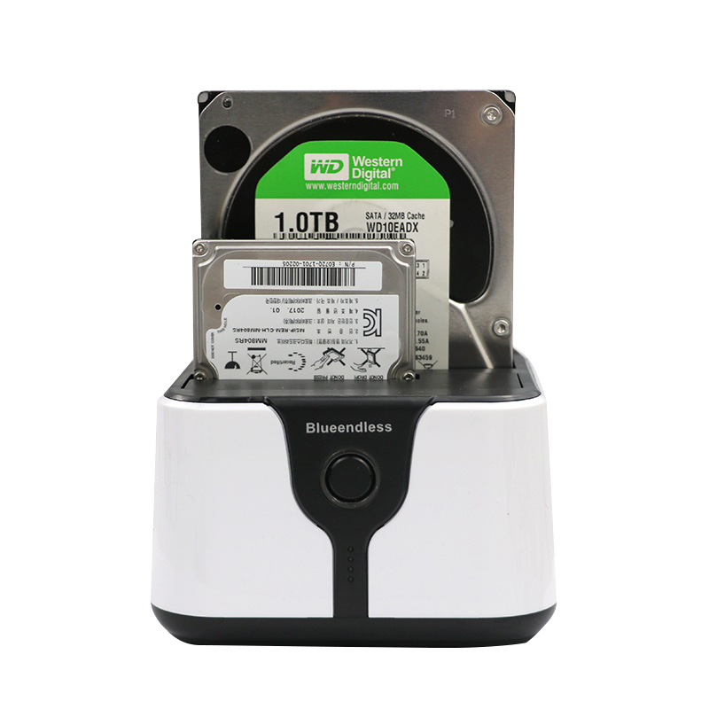 blueendless 2 Bay SATA hdd docking station 3 5 2 5 USB 3 0 SATA dual