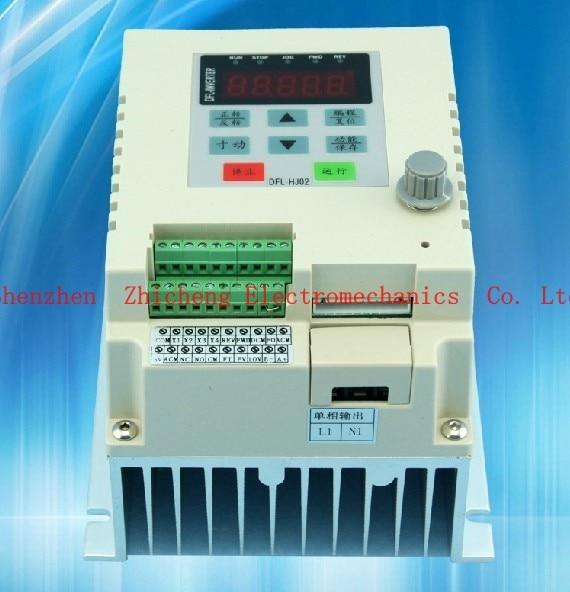 Vfd 1.5 kW single-phase 220V AC Frequency Inverter 1 Phase Single-phase input 1 phase output 220 панель декоративная awenta pet100 д вентилятора kw сатин