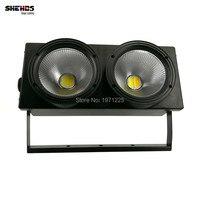 2eyes 2x100w LED COB Light DMX Stage Lighting Effect Led Blinder Light Cool White And Warm