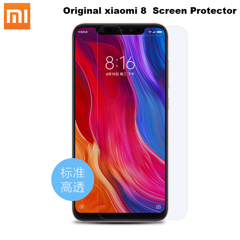 100% Original xiaomi 8 Protective Film mi8 Premium Screen Protector(Not Tempered Glass) For Xiaomi Mi8 Mi 8 купить недорого в Москве