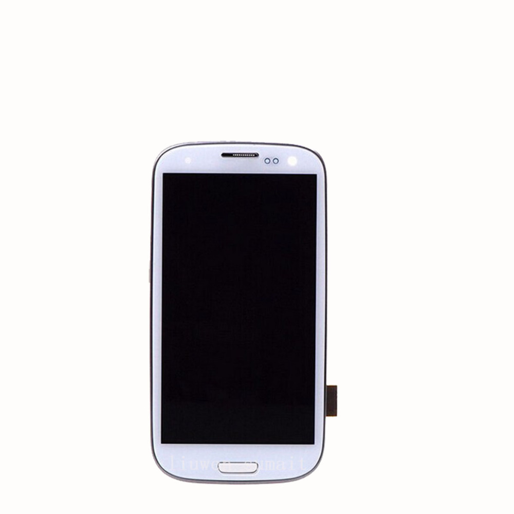 ФОТО LCD Display With Touch Screen Digitizer Assembly Frame  For Samsung Galaxy S3 Neo i9300i  i9308i i939i replacement  parts