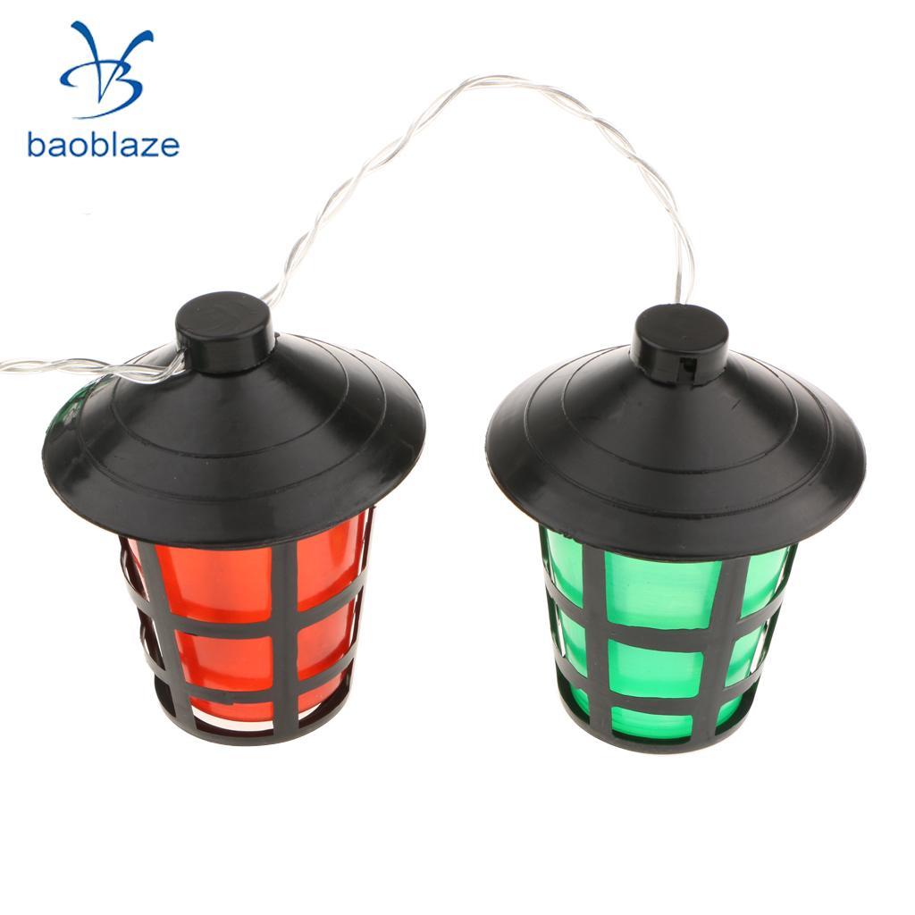 10 LED Красочный Фея свет шнура Главная Garden Party Декор Освещение теплый белый-Фонари