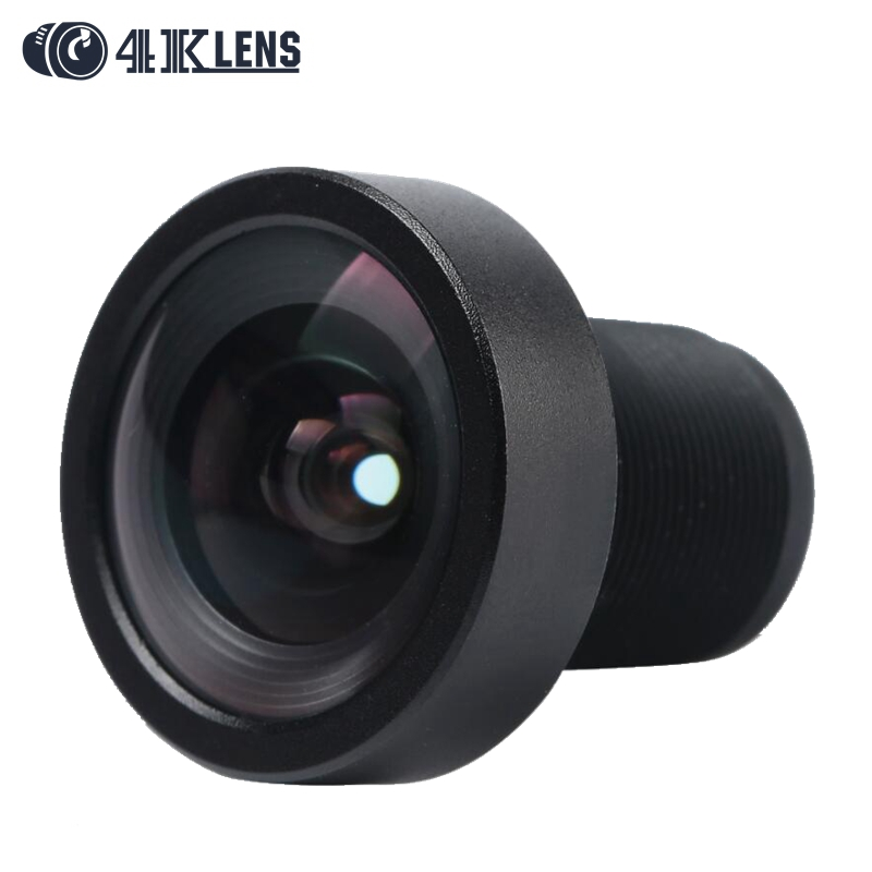 4K LENS 3.8MM Lens 1/2.3 Sensor 12MP S Mount Low Distortion 95D for DJI Phantom 3 Aerial Go pro 4 Camera Drones Newly Coming