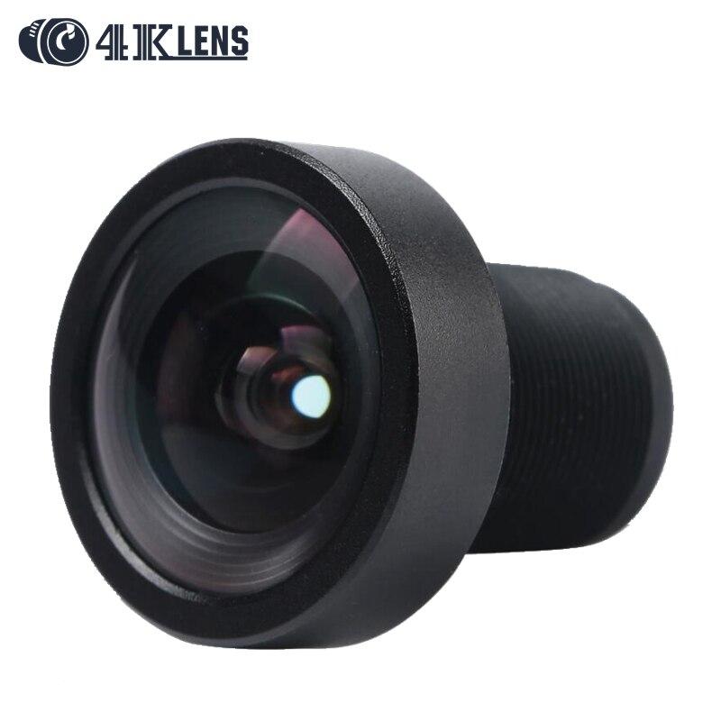 4K LENS 3 8MM Lens 1 2 3 Sensor 12MP S Mount Low Distortion 95D for