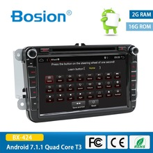 bosion 8″ 2 Din Android 7.1 Car Radio Audio GPS Navigation For Volkswagen VW Passat Polo Golf 5 6 Head unit Tape Recorder Player