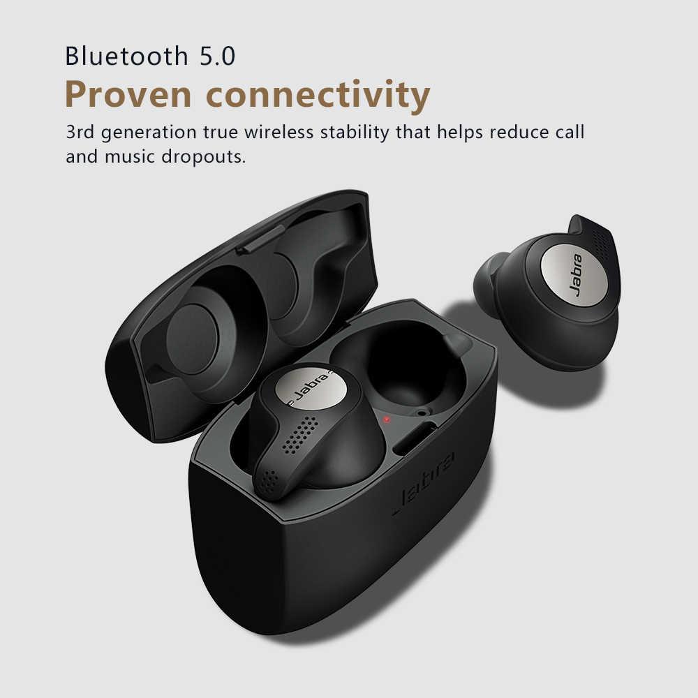 Jabra Elite Active 65t Alexa Enabled True Wireless Sports Earbuds With Charging Case Titanium Black Aliexpress
