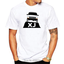 Customize Better men t shirt jeeps cherokee xj front t-shirt man summer Standard tshirt for men plus size 3xl Cheap Sale(China)