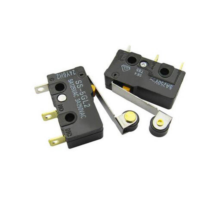 2pcs SS-5GL2 micro switch contact switch 3 pins swtich 5A 125V AC/ 3A 250V AC ...