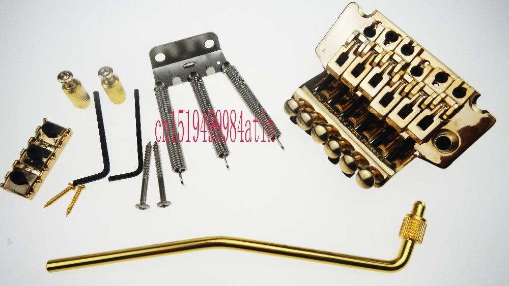 new floyd rose electric guitar duplex shake bridge tremolo bridge systems vibrato device gold. Black Bedroom Furniture Sets. Home Design Ideas